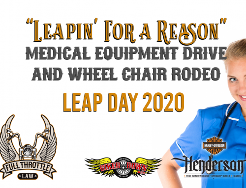 Las Vegas Bikers to Host a Wheelchair Derby Fundraiser for Injured Motorcycle Riders