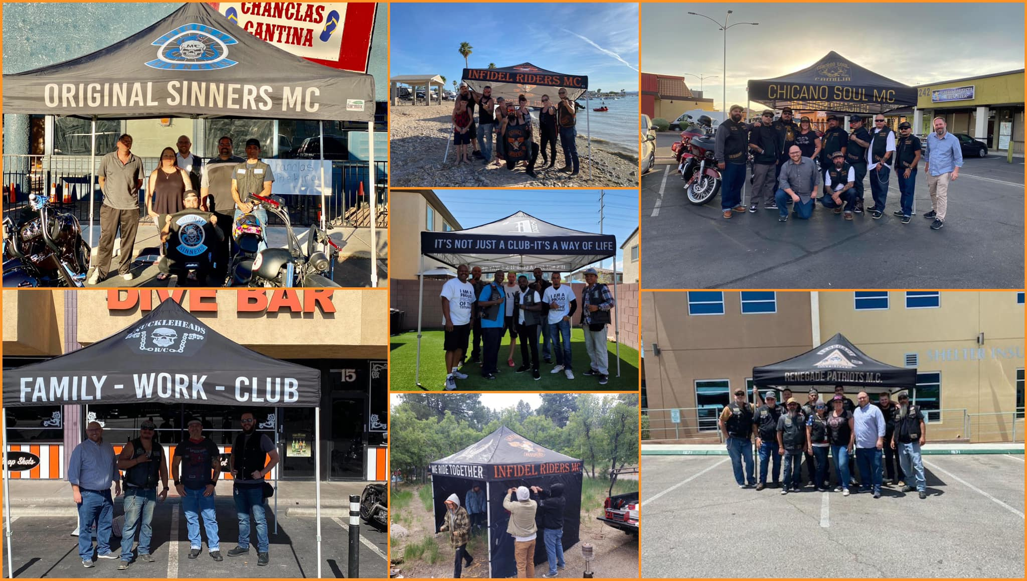 Motorcycle Injury Lawyer Jared Richards Visits Biker Event