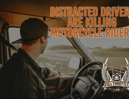 Distracted Drivers Can Seriously Injure and Even Kill Motorcycle Riders